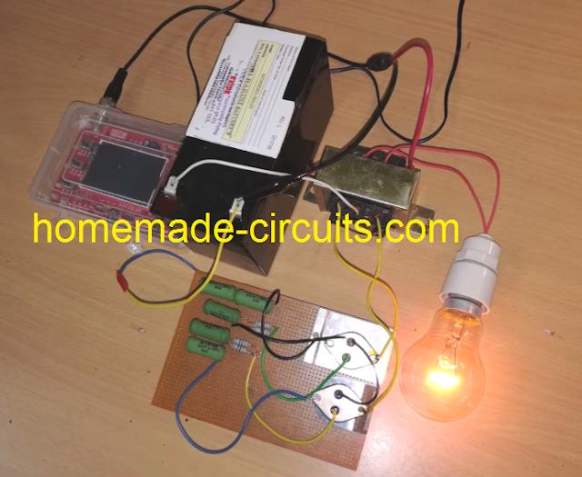 simple inverter circuit prototype