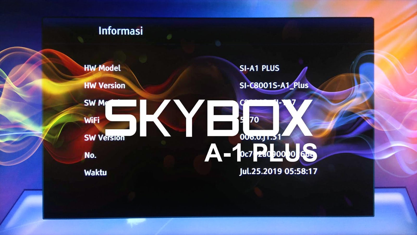 Download SW Skybox AVS 8MB untuk Skybox A1 Plus