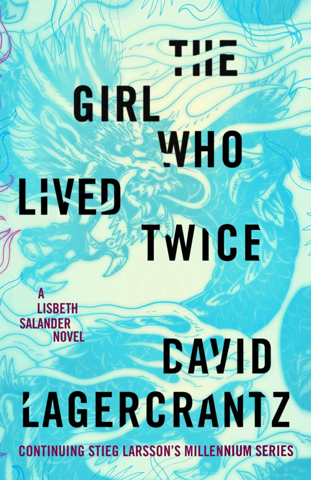 The Girl Who Lived Twice By David Lagercrantz