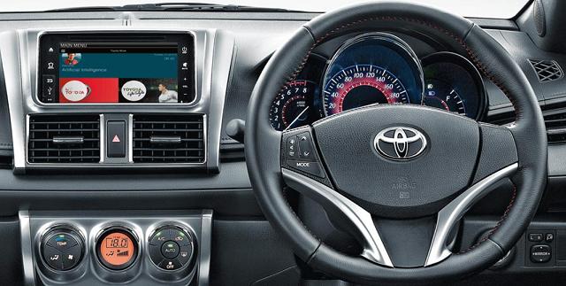 Beda All New Yaris G Dan Trd Grand Veloz 1.5 2018 Spesifikasi Lengkap Toyota Sportivo Perbedaan Lainnya Adalah Pada Kemudi Steering Dinama Untuk Tipe Sudah Dilengkapi Dengan Fitur Tombol Switch Sehingga Lebih