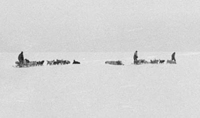 last photograph taken of the Far Eastern party, during the Australasian Antarctic Expedition. Date November 1912