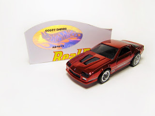 Hot Wheels RLC Real Riders '85 Chevrolet Camaro IROC-Z
