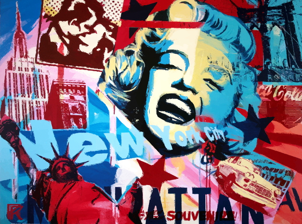 Monroe Pop Art Free Download Wallpaper