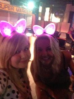 Selfie in the club on the Kavos strip
