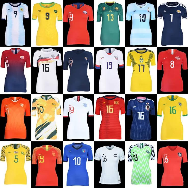 d9fcaa10cf0 Von allen 24 teilnehmenden Teams sind nur die Auswärtstrikots von Kamerun  und Thailand ein Geheimnis. Diese werden wir hinzufügen, sobald sie zu  sehen sind.