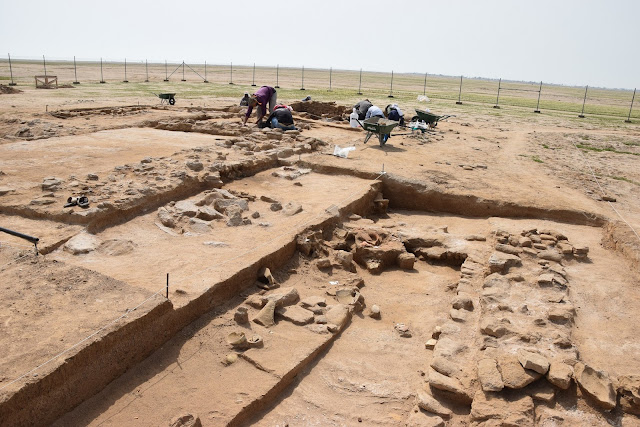 Remains of 1,200-year-old palace unearthed on Kuwait's Failaka Island