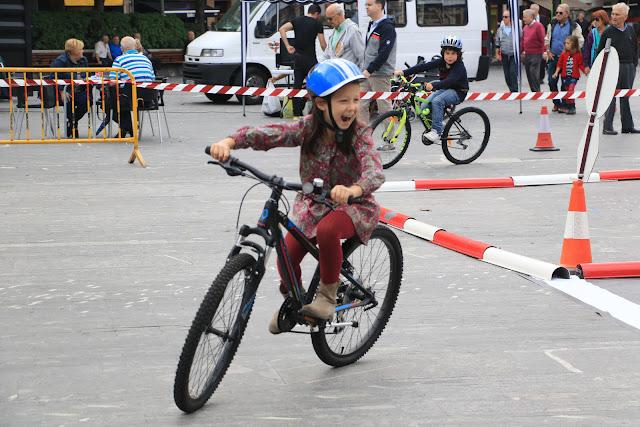 Circuito ciclista en Herriko Plaza en 2017
