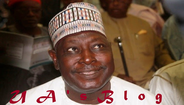 Babachir Lawal Spotted At Buhari's Campaign Launch In Aso Rock