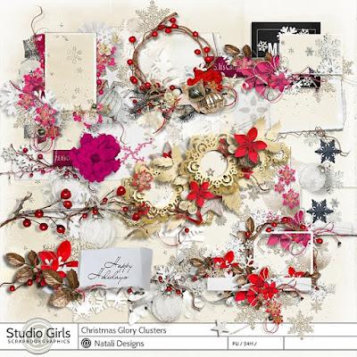 http://shop.scrapbookgraphics.com/Christmas-Glory-Clusters.html