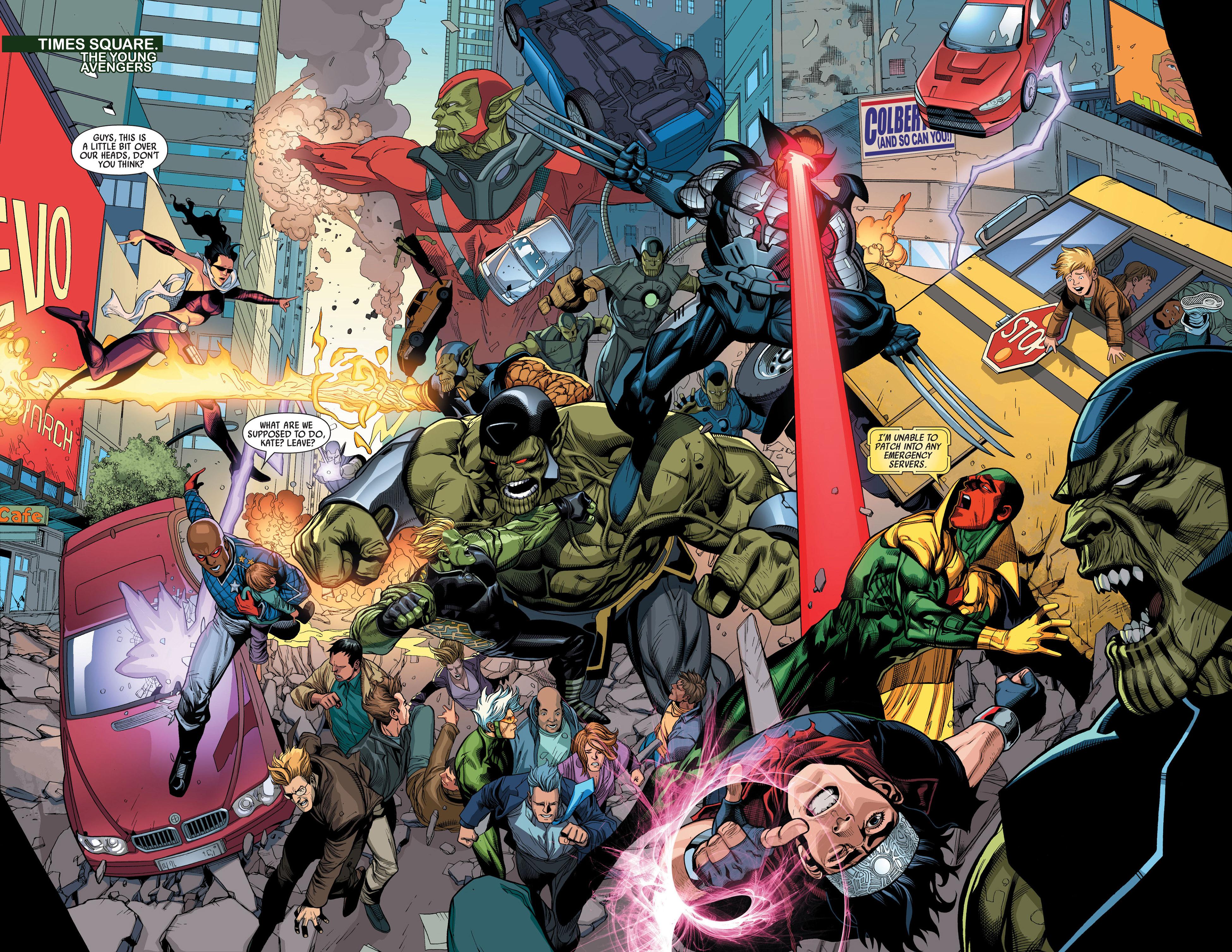 Read online Secret Invasion comic -  Issue #3 - 7