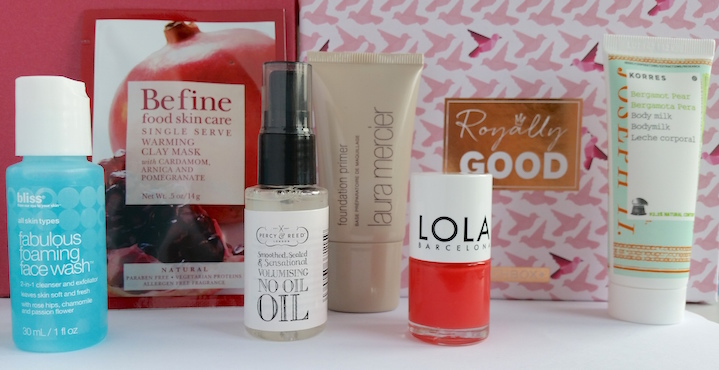 Birchbox April 2015 Royally Good