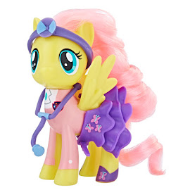 MLP Pet Care Class Fluttershy Brushable Pony