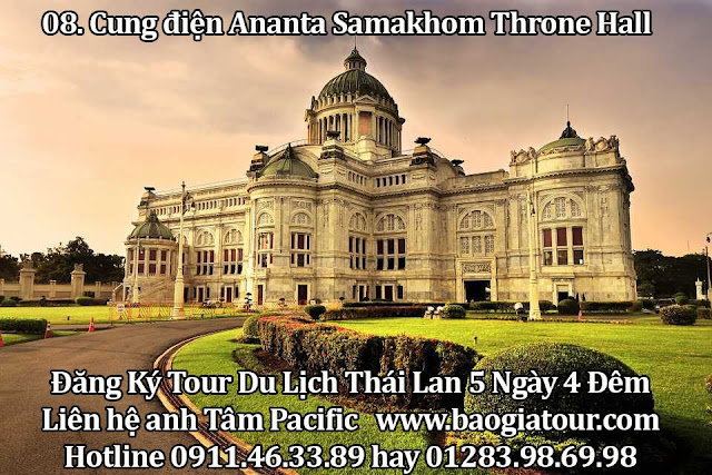 Cung điện Ananta Samakhom Throne Hall