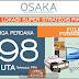 Osaka Riverview Apartment PIK 2 Jakarta Dijual Rp. 198 Jutaan