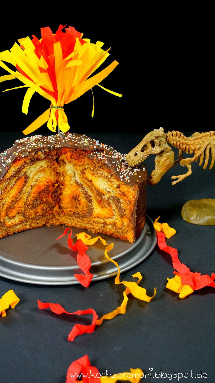 Kochzeremoni Wo Bitte Geht S Zum Nachsten Vulkan Fanta Lava Kuchen