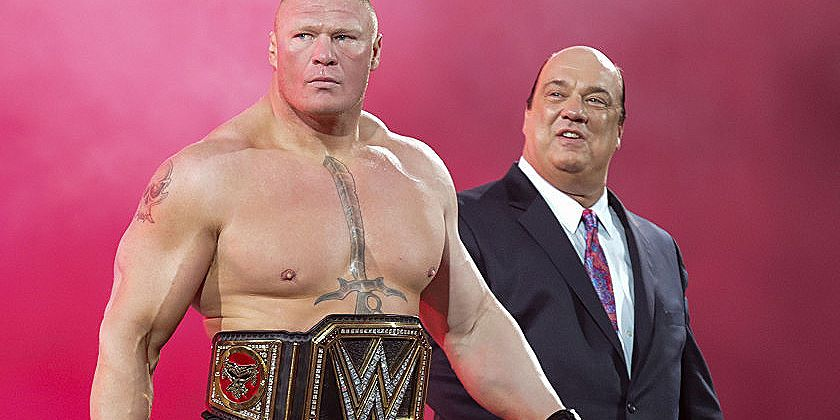 Lesnar And Heyman Reportedly Pushed For Match To Go On Early At WrestleMania 35