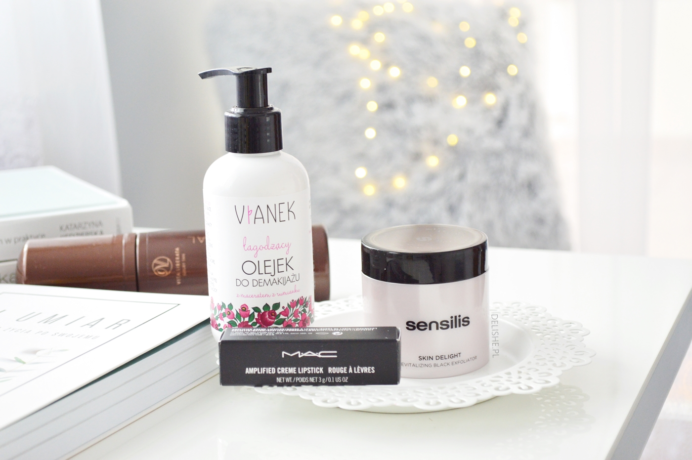zakupy kosmetyczne i nowości: Mac, Vianek, Sensilis