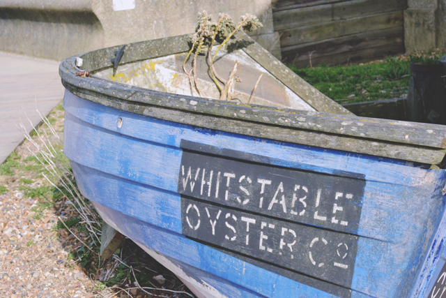 Whitstable Oyster Co Boat
