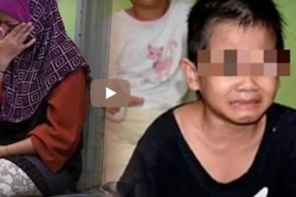 [Video] Miris! Tak Miliki Uang, Kakak Beradik Ini Cari Makanan Di Tong Sampah Sekolah