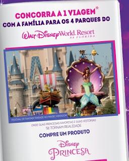 Participar promoção História de Viagem Disney