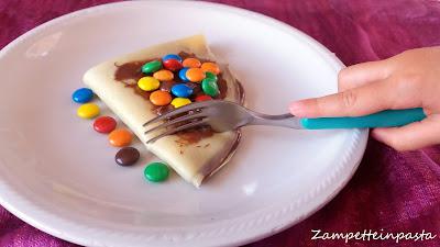 Crepes alla Nutella - Ricetta crepes