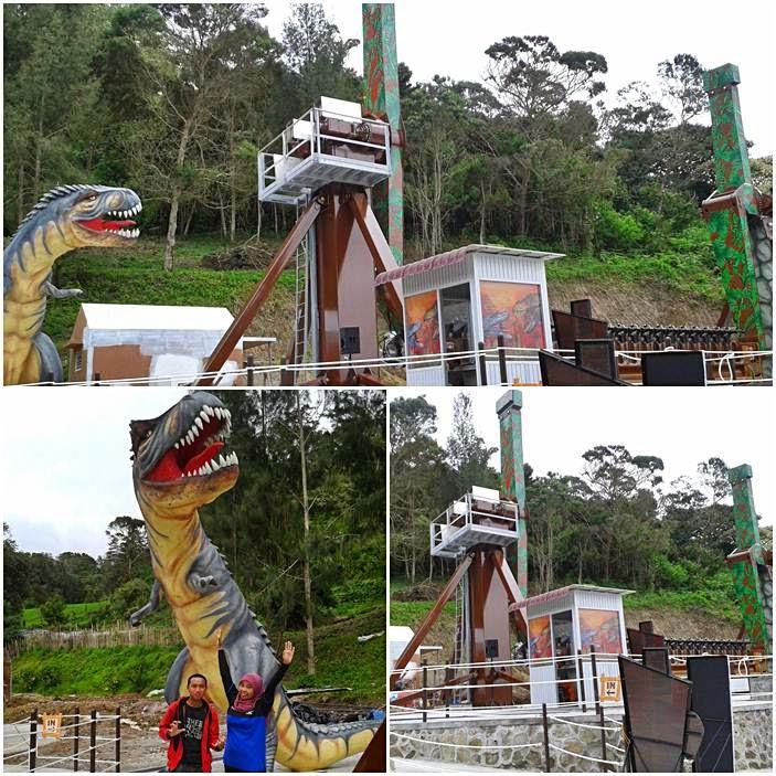 Rasakan Serunya Wahana Baru Mikie Holiday Dino Vs Dino