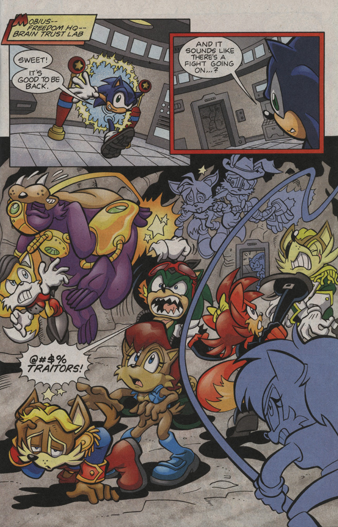 Read online Sonic The Hedgehog comic -  Issue #194 - 10