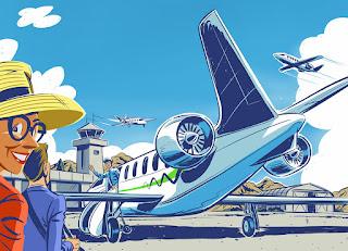 As Doenças que Vêm Voando - Ilustração de Jonathan Carlson