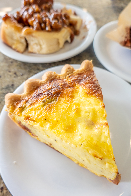 Ham & Cheese Quiche from Buzzcatz in Gulf Shores/Orange Beach, AL