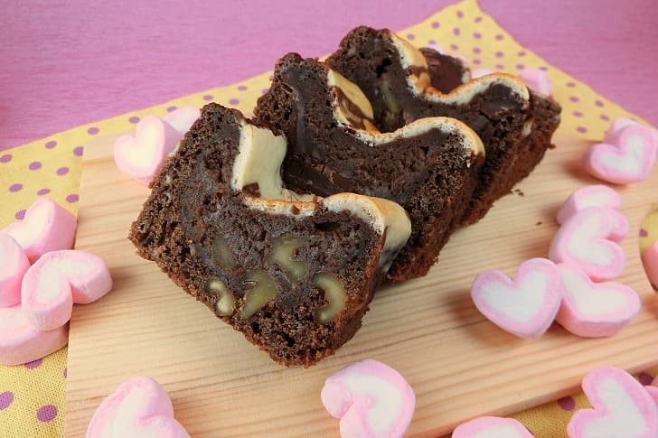 ミックス ホット バレンタイン ケーキ