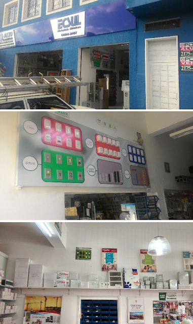 ECSUL - Distribuidora de Material Elétrico - Displays Building e B-Lux