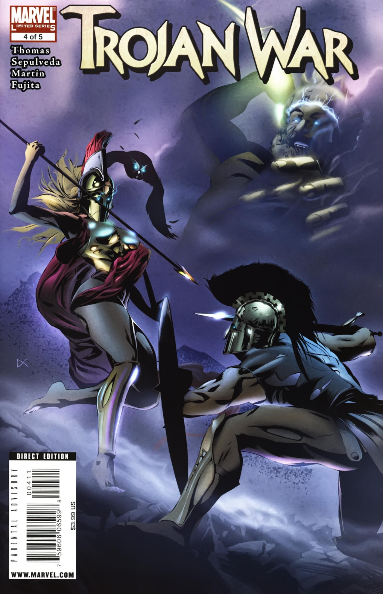 Read online Trojan War comic -  Issue #4 - 1