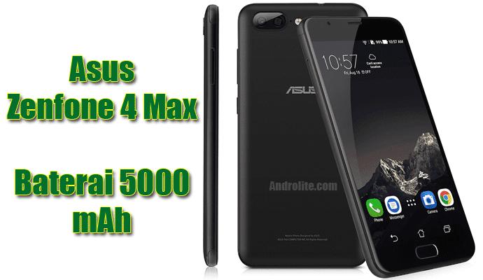 Harga Asus Zenfone 4 Max terbaru
