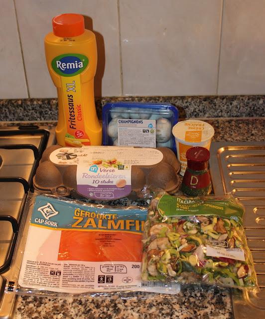 IMG 2063 - Recept: Eiwraps met zalm en dillesaus