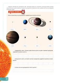 6. Sınıf Fen Bilimleri Ders Kitabı Cevapları Sevgi Yayınları Sayfa 22