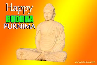 Happy Buddha Purnima festival Greetings wishes