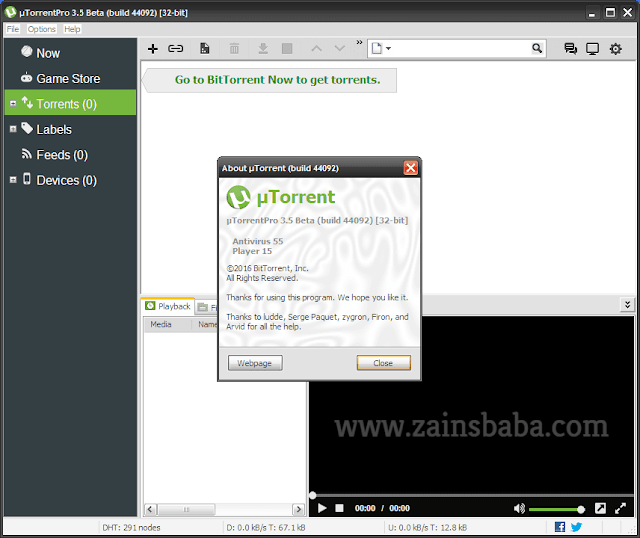 uTorrent Pro 3.5.1.44332 Stable Latest Free Download