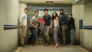 the maze runner the scorch trials-thomas brodie-sangster-dylan obrien-ki hong lee-kaya scodelario-dexter darden-bryce romero