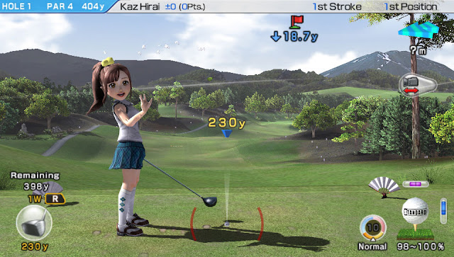 Hand's on with Everybody's Golf