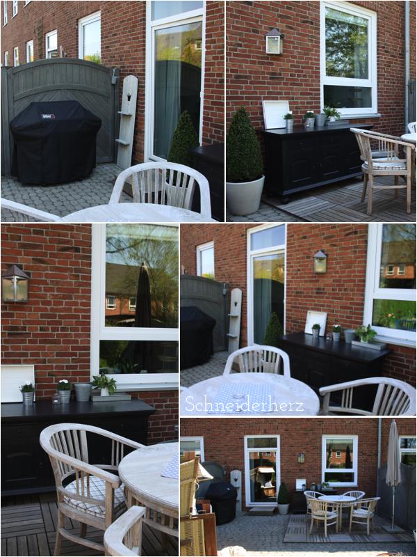 Reihenhausgarten Terrasse Outdoorkitchen DIY