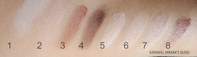 Essence All About Nude Eye Palette Swatches Sun Light