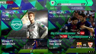 FIFA 14 MOD PES 2018 Android Offline 1 GB New Menu