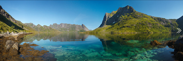 Beaches on the Lofoten islands, Norway, by Alex Nail