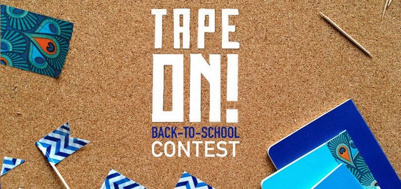 Tape On! Back to School Contest
