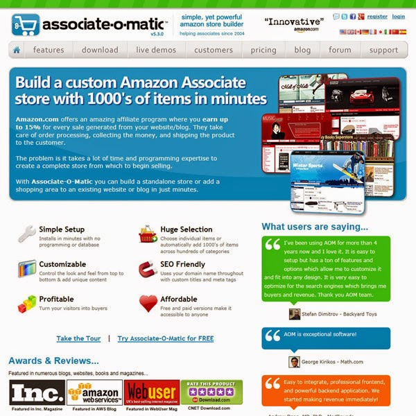 amazon affiliate program reviews