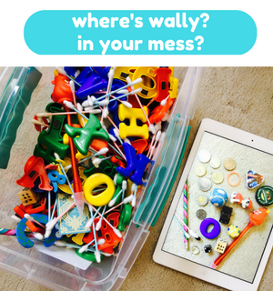 Printable Games by Practical Mom: Where's Wally in your Mess?