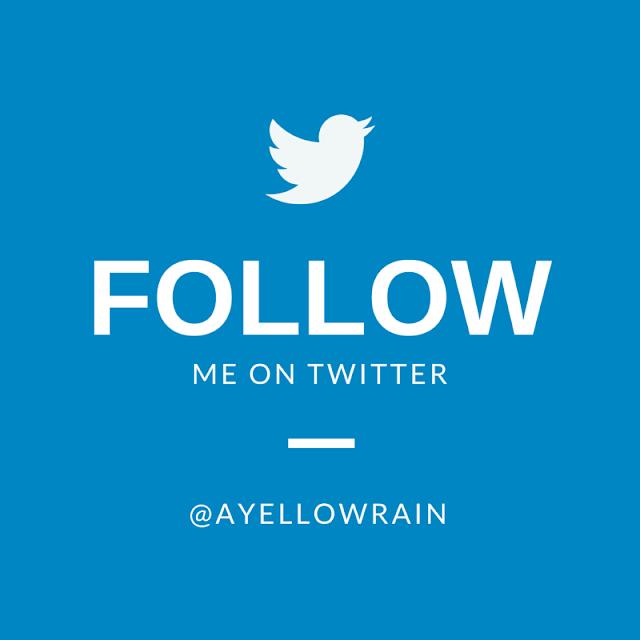 YellowRain - Follow me on twitter