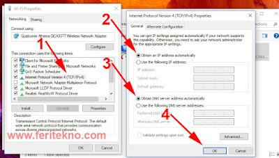 Mengatasi Ikon Wifi Tanda Seru Kuning di Windows 7, 8 dan 10 4