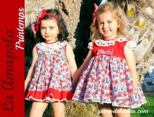 Vestidos niña flores - La Amapola