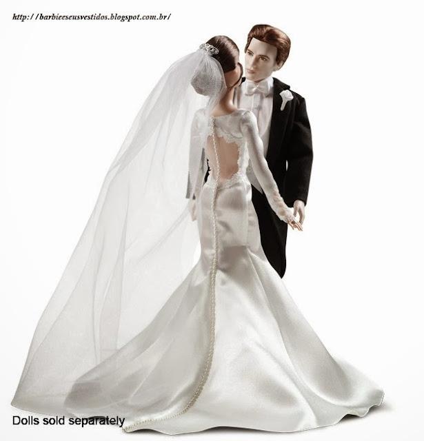 Vestidos de noiva para Barbie - Bridal dresses for barbie dolls - Para inspirar nossas criações 6